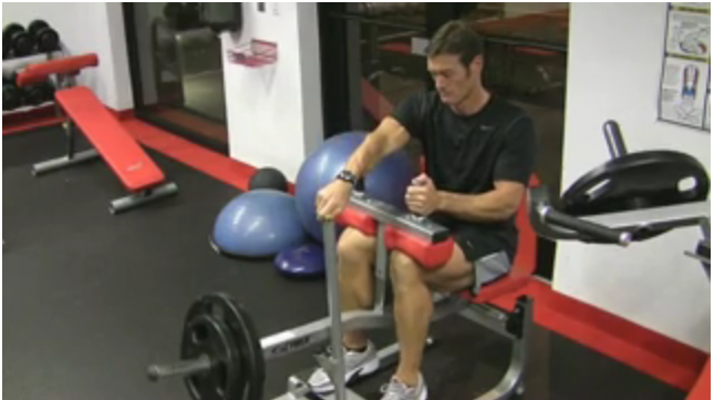 Seated Calf Raise